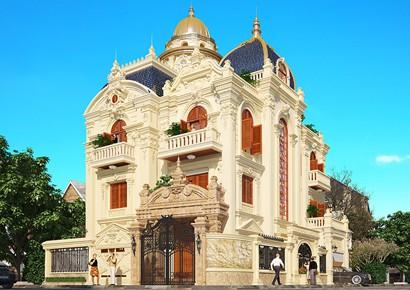 Một tuyệt tác thiết kế biệt thự cổ điển kiểu Pháp tại Quảng Ngãi