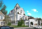 Thiết kế biệt thự kiểu Pháp - Mẫu Hoàng Anh Villa tuyệt đẹp tại Sài Thành