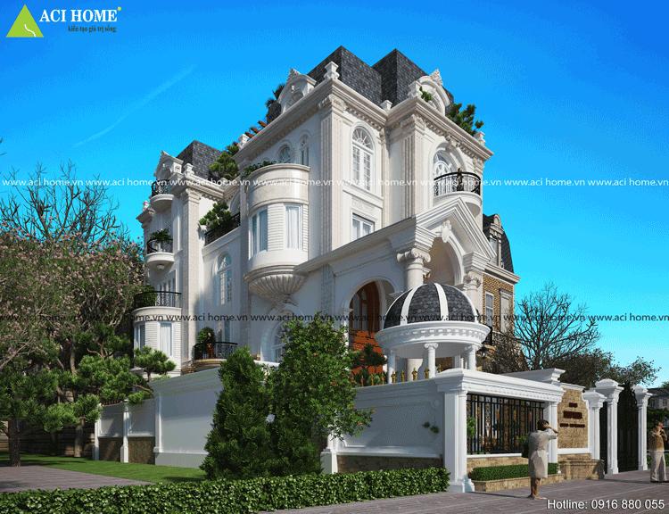 Thiết kế biệt thự cổ điển tại Q3-Tp Hồ Chí Minh-2