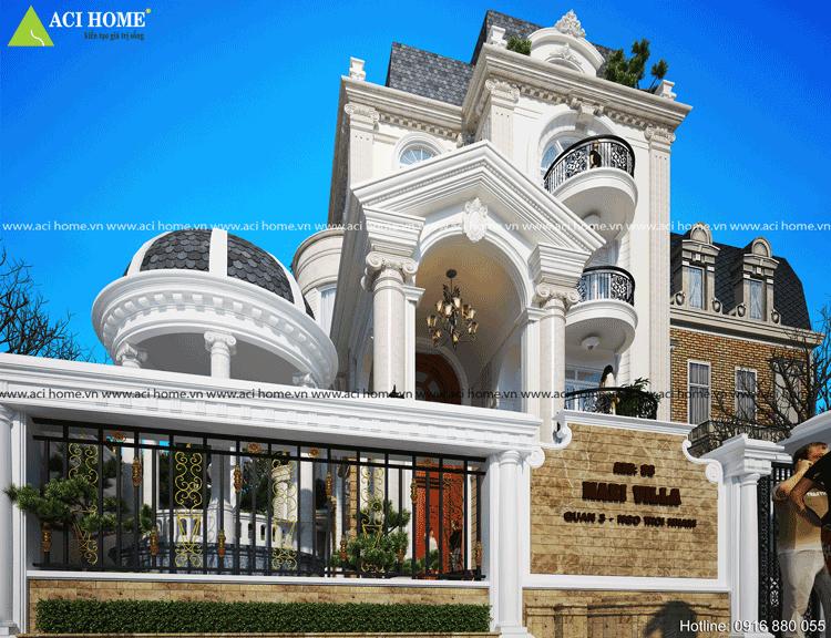 Thiết kế biệt thự cổ điển tại Q3-Tp Hồ Chí Minh-3