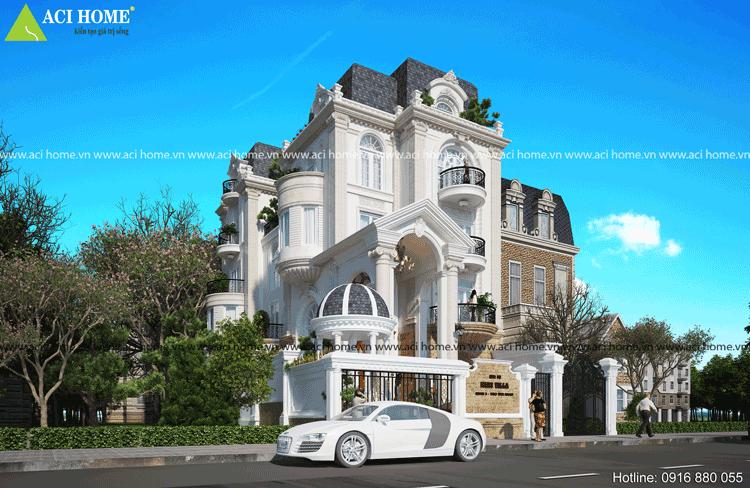 Thiết kế biệt thự cổ điển tại Q3-Tp Hồ Chí Minh