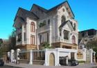 Đắm say mẫu thiết kế biệt thự kiểu Pháp tại Hà Nội