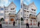 Cải tạo biệt thự trong khu đô thị theo kiến trúc Pháp