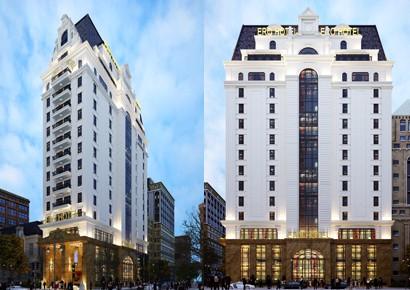 Mẫu thiết kế khách sạn kiểu Pháp 18 tầng đẳng cấp và hoàn hảo tại Hà Nội