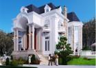 Mẫu thiết kế biệt thự Pháp tại Q9 đẹp hơn cả mong đợi