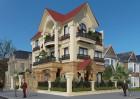 Kiến trúc đẳng cấp nguy nga kiêu hãnh tại thiết kế biệt thự kiểu Pháp tại Vĩnh Phúc