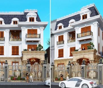 Cải tạo như mới biệt thự kiểu Pháp tại khu đô thị Cổ Nhuế - Hà Nội