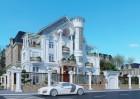Cải tạo biệt thự kiểu Pháp đẹp như lâu đài tại Đồng Nai