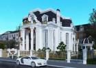 Sống thiên đường với thiết kế biệt thự cổ điển 3 tầng tại Hạ Long