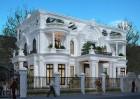 Thiết kế biệt thự kiểu Pháp đẹp kỳ lạ tại Q9 - Sài Gòn
