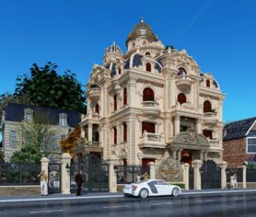 Những biệt thự kiểu Pháp được thiết kế như phép màu thần tiên năm 2019