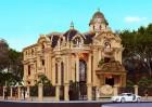 Biệt thự Pháp mang kiến trúc gây choáng thực hiện tại Bình Dương