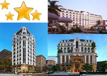 Tiêu chuẩn khách sạn xếp hạng 1,2,3,4,5 Sao do Tổng cục Du Lịch quy định
