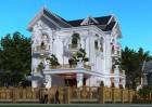 Thiết kế biệt thự cổ điển 3 tầng đẹp trác tuyệt tại Vũ Thư - Thái Bình