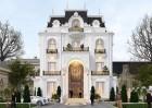 Thiết kế biệt thự kiểu Pháp tại Sơn La trong vẻ đẹp yêu kiều
