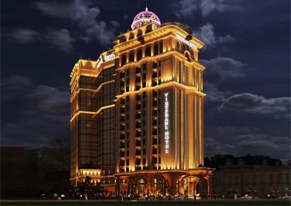 Thiết kế khách sạn Pháp 4 sao tráng lệ - Viên ngọc Gành Hào - Vũng Tàu