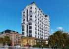 Thiết kế khách sạn cổ điển Pháp 15m mặt tiền cao 10 tầng tại Hải Tiến