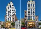 Thiết kế khách sạn 12 m mặt tiền kiến trúc Pháp lung linh Vịnh Hạ Long