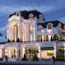 Thiết kế biệt thự kiểu Pháp 3 tầng - Đẹp tinh tế trong tạo hình độc lạ