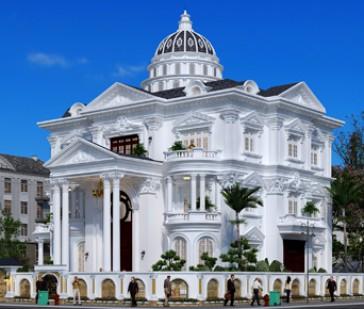 Thiết kế biệt thự kiểu Pháp đẹp thật sự tại Đồng Tháp