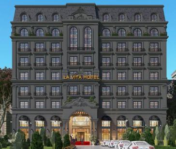 Thiết kế khách sạn kiểu Pháp đẹp mãn nhãn trên phố Lê Hồng Phong- Vũng Tàu