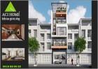 Thiết kế nhà phố hiện đại 4,5 tầng nhỏ xinh tại Tp Bắc Ninh sầm uất