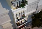 Thiết kế nhà phố 5 tầng kiểu Pháp