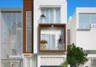 Thiết kế nhà phố 3 tầng đẹp tại thị trấn Đông Anh