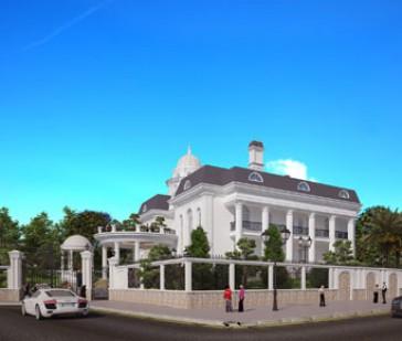 Biệt thự đẹp sang trọng Duy Phu Villa tại Hà Tĩnh (biệt thự 2 tầng kiểu Pháp)