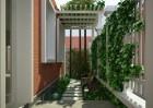 Kiến trúc sân vườn tiểu cảnh ngôi biệt thự đẹp