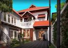 Thiết kế biệt thự 2 tầng phong cách Á Đông truyền thống