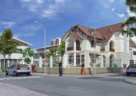 Biệt thự nhà đẹp 2 tầng theo phong cách tân cổ điển Pháp