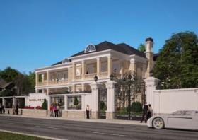 Mẫu biệt thự đẹp 2 tầng tân cổ điển Pháp - lựa chọn đáng quan tâm nhất cho chủ đầu tư