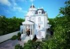 Vẻ đẹp bền vững biệt thự 3.5 tầng kiến trúc Pháp