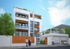 Biệt thự hiện đại 4,5 tầng tại Tây Hồ - Hà Nội