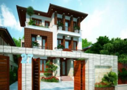 Thiết kế nhà phố á đông