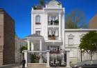 Thiết kế biệt thự nhà phố đẹp phong cách tân cổ điển Pháp