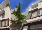 Nhà phố 3,5 tầng phong cách hiện đại