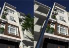 Nhà phố 4,5 tầng phong cách hiện đại