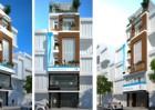 Thiết kế kiến trúc hiện đại nhà phố 6 tầng
