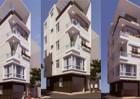 Nhà phố hai mặt tiền phong cách hiện đại