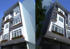 Nhà phố kiểu hiện đại 5 tầng