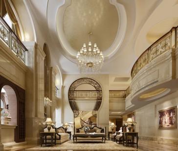 Thiết kế nội thất hoàng kim biệt thự lâu đài tại Lạng Sơn