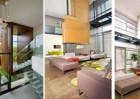 Tạo ấn tượng cho phòng khách bằng giải pháp thông tầng