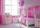 Trang trí phòng ngủ xinh xắn cho bé gái