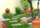 Sử dụng vật liệu sân vườn hợp phong thủy