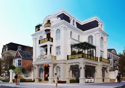 Thêm một mẫu thiết kế biệt thự cổ điển khiến gia chủ tại Linh Đàm phải ngỡ ngàng