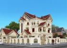 Thiết kế biệt thự cổ điển 3,5 tầng tại Vinh - Vẹn toàn khao khát của gia chủ
