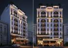 Thiết kế khách sạn cổ điển song lập đẹp nhất phố Kon Tum tại Hà Nội