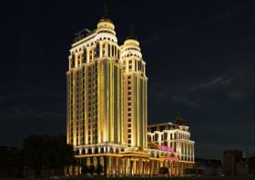 Thiết kế khách sạn kết hợp trung tâm tiệc cưới sang trọng tại Móng Cái
